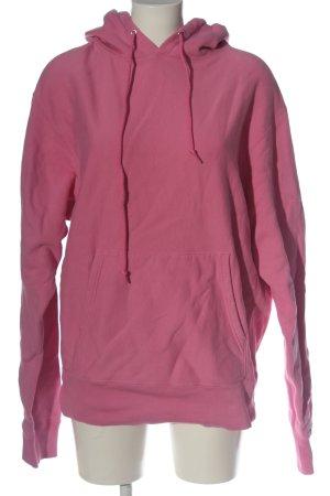 Sandro Kapuzensweatshirt pink Streifenmuster Casual-Look