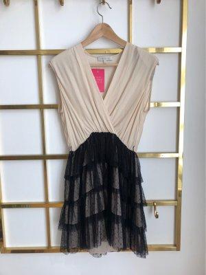 Sandro Paris Suknia balowa czarny-kremowy