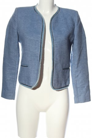 Sandro Kurz-Blazer blau Business-Look
