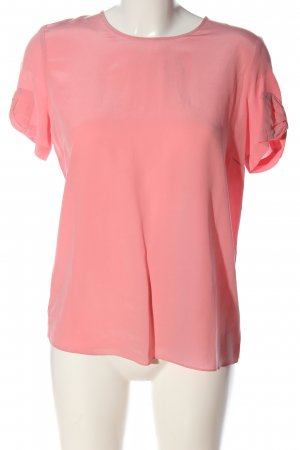 Sandro Kurzarm-Bluse pink Business-Look