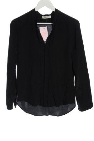 Sandro Long Sleeve Blouse black casual look