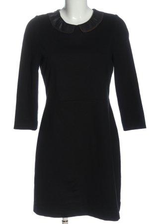 Sandro Longsleeve Dress black-light grey flecked casual look