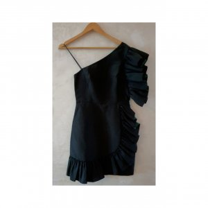 Sandro little black dress S (2)