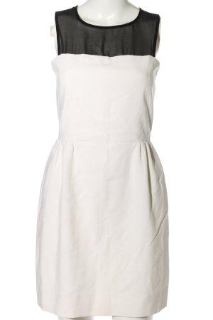 Sandro Minikleid weiß-schwarz Elegant