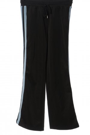 Sandro Paris Baggy Pants schwarz-blau Casual-Look