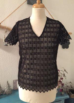 Sandro Paris Bluse /Shirt  schwarz Neu Größe 1/34-36