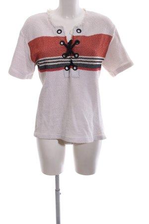 Sandro Paris Gehaakt shirt veelkleurig simpele stijl