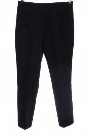 Sandro Paris High Waist Trousers black casual look