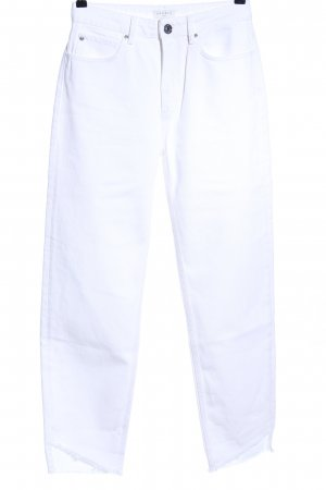 Sandro Paris Hoge taille jeans wit casual uitstraling