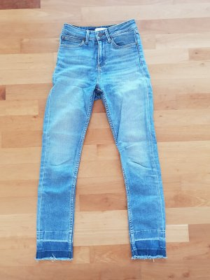 Sandro Paris Jeans a vita alta multicolore Cotone