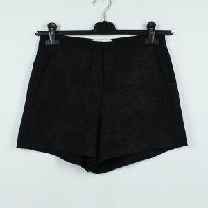 SANDRO Paris Hot Pants Shorts Gr. 36 schwarz (19/09/754*)