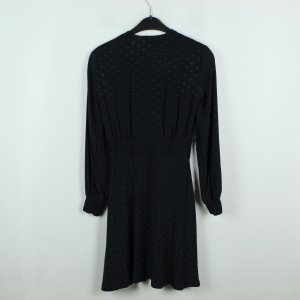 SANDRO Paris Kleid Gr. 34 dunkelblau gepunktet (20/02/147*)