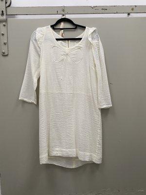 Sandro Paris Kleid weiß Gr 36/38 Standesamt