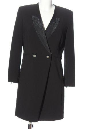 Sandro Paris Marynarski płaszcz czarny W stylu casual