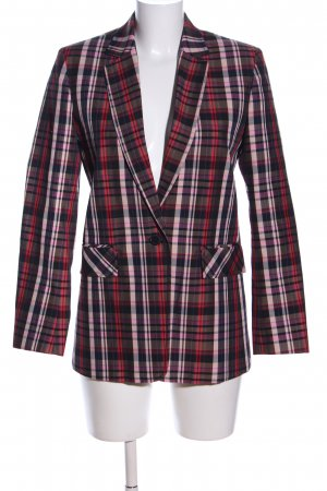 Sandro Paris Long-Blazer Allover-Druck Business-Look