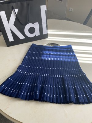 Sandro Circle Skirt dark blue