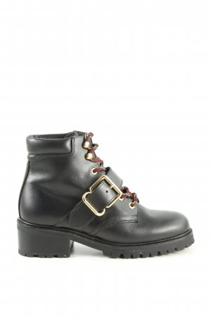 Sandro Paris Lace-up Booties black casual look