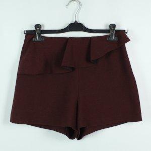 SANDRO Paris Shorts Gr. 38 bordeaux (20/02/446*)