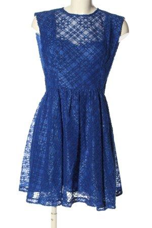 Sandro Paris Spitzenkleid blau Elegant