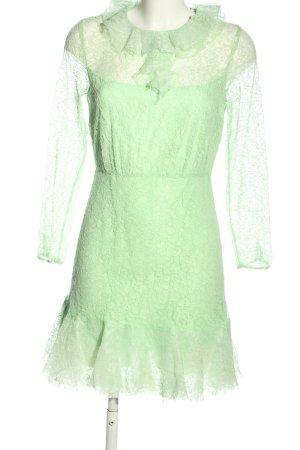 Sandro Paris Spitzenkleid grün Elegant