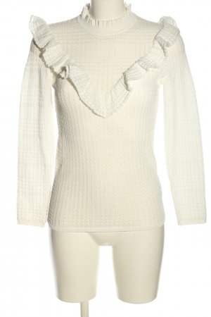 Sandro Paris Knitted Jumper white casual look