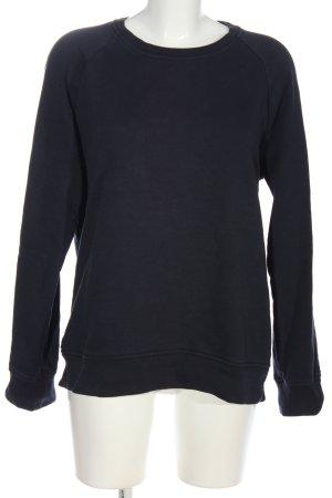 Sandro Paris Sweatshirt dunkelblau Casual-Look