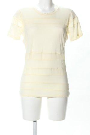 Sandro Paris T-Shirt blassgelb Casual-Look