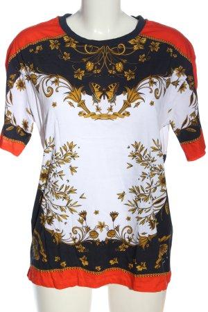 Sandro Paris T-Shirt Allover-Druck Casual-Look