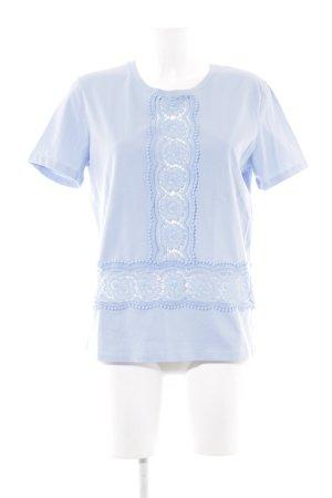 Sandro Paris T-Shirt himmelblau Casual-Look