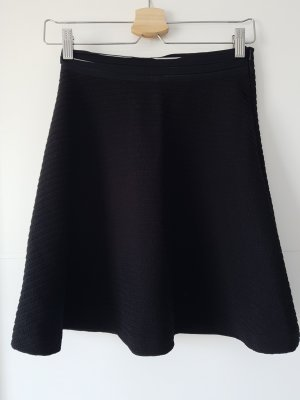 Sandro Circle Skirt black