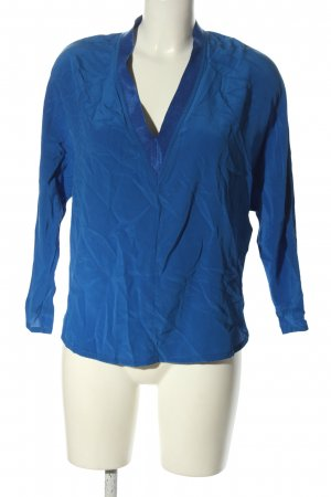 Sandro Schlupf-Bluse blau Business-Look