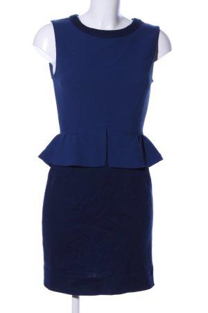Sandro Vestido peplum azul estilo «business»