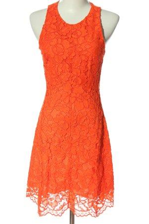 Sandro Abito in pizzo arancione chiaro motivo floreale elegante
