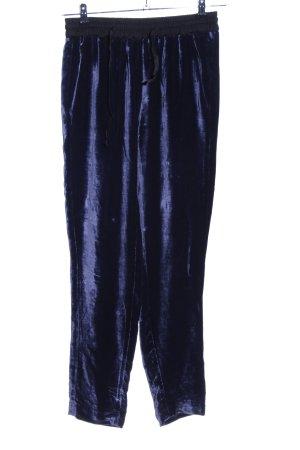 Sandro Pantalon en jersey violet style décontracté