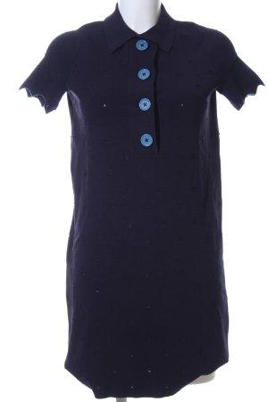 Sandro Stretchkleid blau Casual-Look