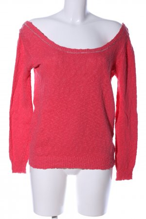 Sandro Strickpullover rot Casual-Look