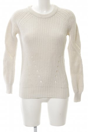 Sandro Strickpullover wollweiß Casual-Look