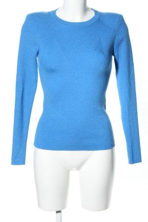 Sandro Strickpullover blau Casual-Look