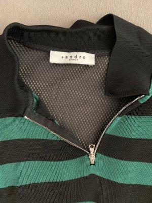 Sandro Camisa larga negro-verde bosque