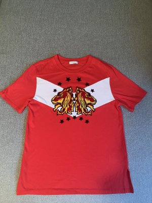Sandro Paris T-shirt donkerrood