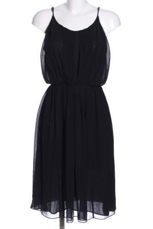 Sandro Trägerkleid schwarz Elegant