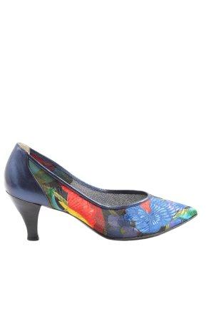 Sandro Vicari High Heels abstraktes Muster Casual-Look
