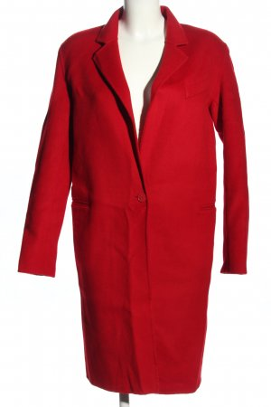 Sandro Wollmantel rot Casual-Look