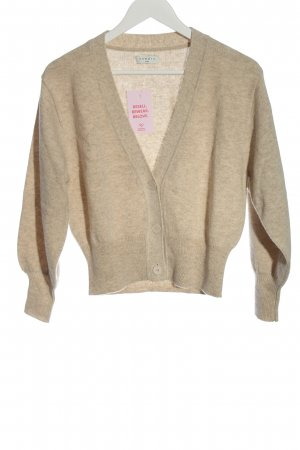 Sandro Wollpullover creme meliert Casual-Look