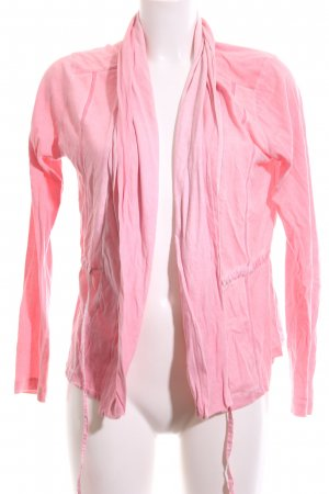 Sandwich Cardigan pink Casual-Look