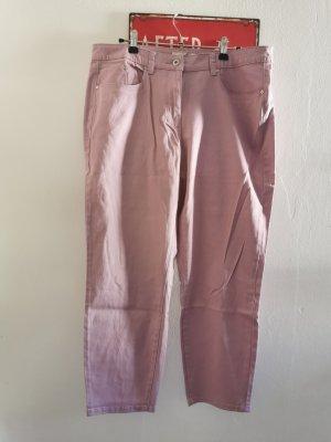 Sandwich Jeans a 7/8 malva Cotone