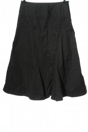 Sandwich High Waist Rock schwarz Casual-Look