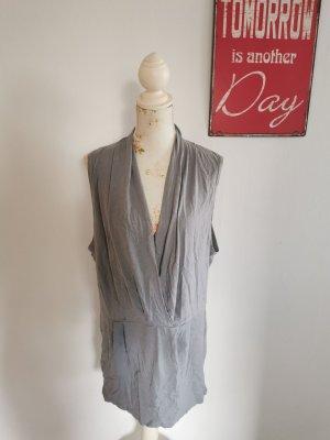 Sandwich Home Damen Blusenkleid Freizeitkleid grau Größe M NEU