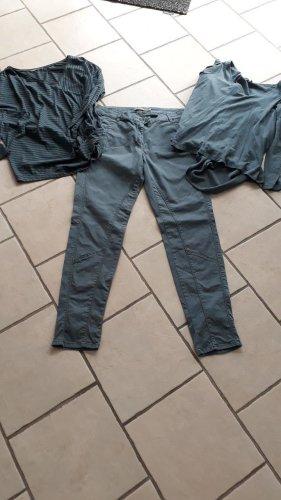 Sandwich Pantalone jersey petrolio