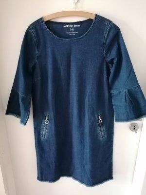 Sandwich Jeans Kleid blau Gr. 38 neu